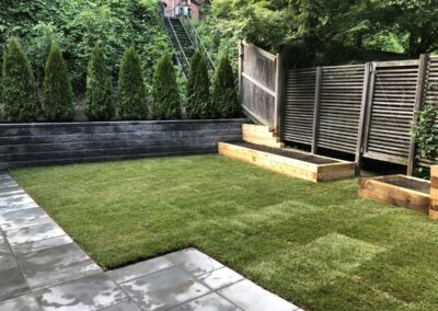 Landscaping, Wall & Patio – 10 Griggs Ter