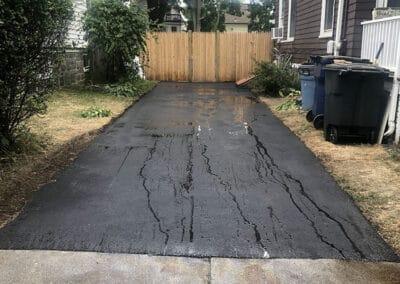 New Asphalt Driveway 20 Tyndale St