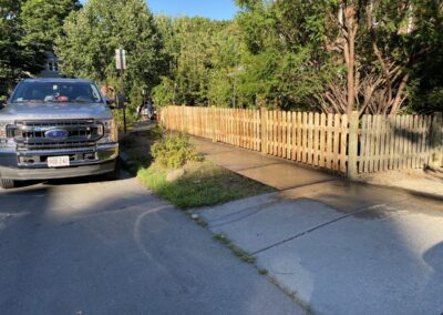 Fence Restoration and Staining 42 Welland Rd